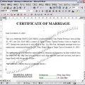 證書∕證件〈結婚證書〉